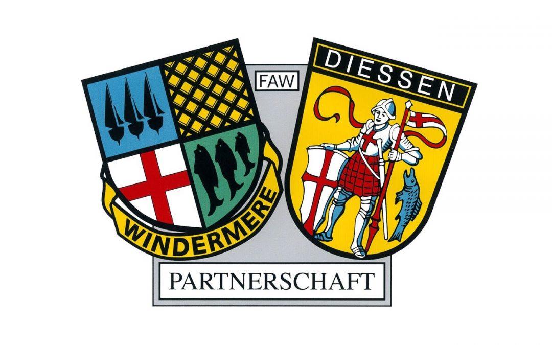 Festprogramm 20 Jahre Städtepartnerschaft Dießen-Windermere